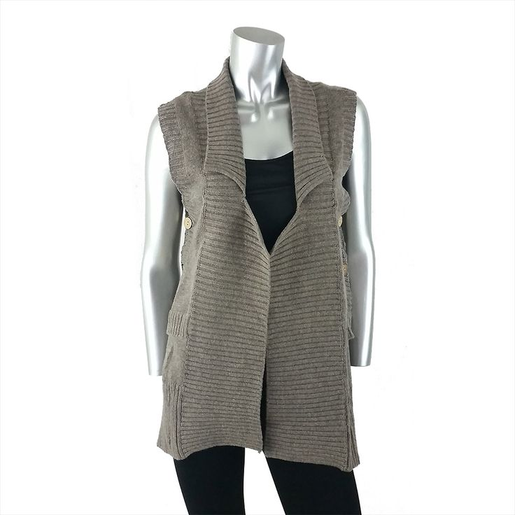 Filo Knitted Jacket with Button Detail