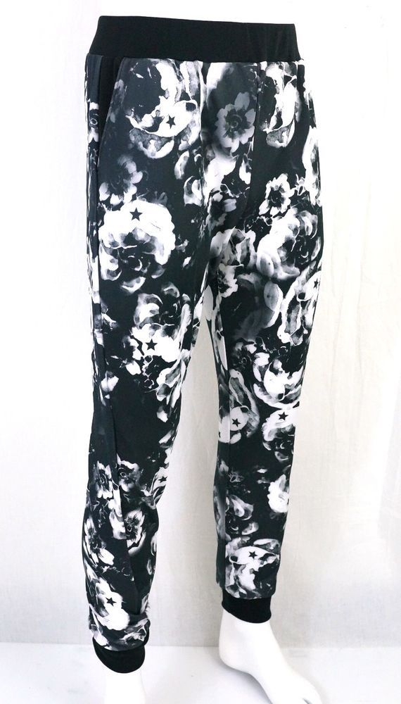 KAYDEN K sublimation print mens jogger pants Stars on Flowers S - XL #KAYDENK #JOGGER