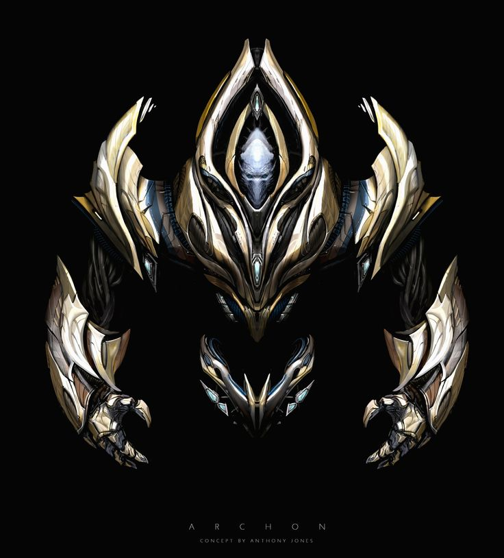 ArtStation - Archon Design from Star Craft II: Legacy of The Void, Anthony Jones