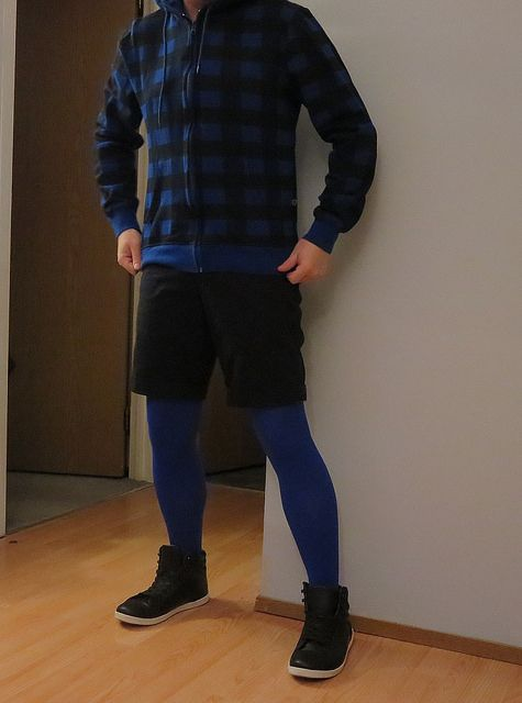 Naughty! Men wearing pantyhose tights 8:55