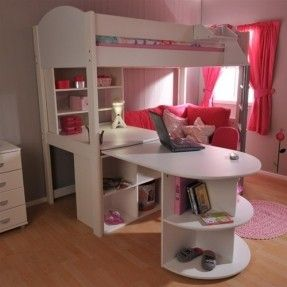 Kids Beds With Desk 30 Best Kendall's Bed Images On Pinterest  Lofted Beds 34 Beds .