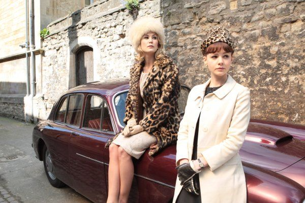Ohhh Rosamund Pike <3 from An EducationLeopards Coats, Girls Generation, Carey Mulligan, Vintage Fashion, An Education, 1960S Fashion, Leopards Prints, Rosamund Pike, Vintage Style