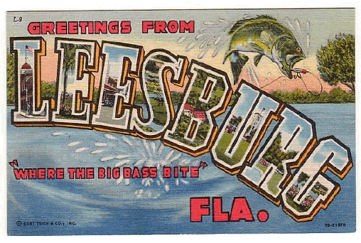 Leesburg, Florida, where the big bass bite