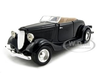 diecastmodelswholesale - 1934 Ford Coupe Convertible Black 1/24 Diecast Model Car by Motormax, $14.49 (https://www.diecastmodelswholesale.com/1934-ford-coupe-convertible-black-1-24-diecast-model-car-by-motormax/)