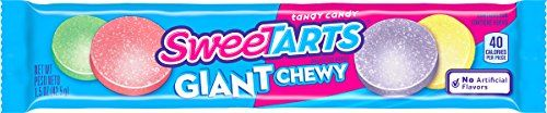 SweeTARTS Giant Chewy Candy, 1.5 Ounce Packets (Pack of 3…