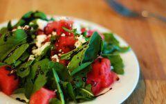 Salada de Melancia com Rúcula ( Receita COMPLETA)