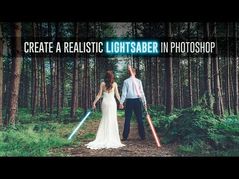 Create a Realistic Lightsaber in Photoshop - TipSquirrel