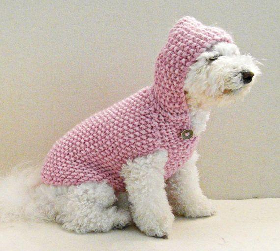 XXS de m Perros para oto/ño Invierno ubest Perros Jersey Mujer Coron Sudadera para Perros peque/ños 3/Colores