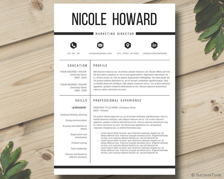 The 25+ best Free resume templates word ideas on Pinterest Cover - ms word for sale