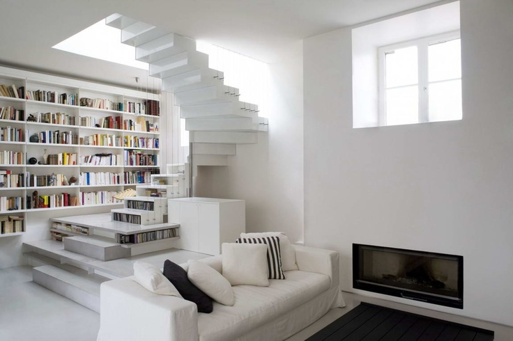 Активная абстракция (Abstraction Active Loft) во Франции от Smoothcore Architects.