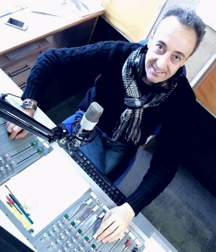 Stefano Facchini durante la diretta