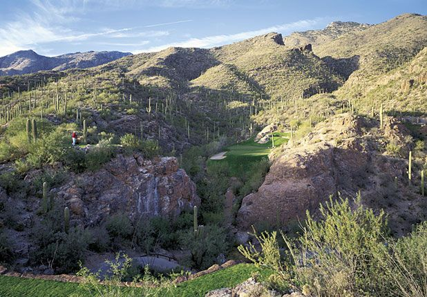 Ventana Canyon Golf Club Tucson Arizona Third Hole Par 3