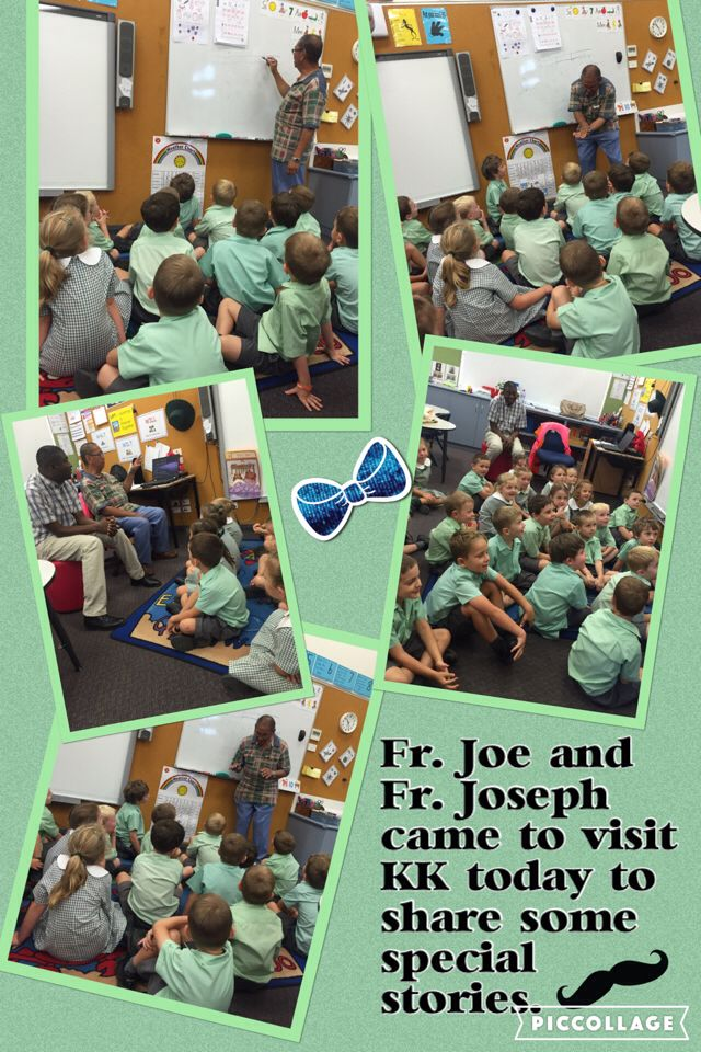 Thanks for visiting KK Father Joe and Father Joseph.