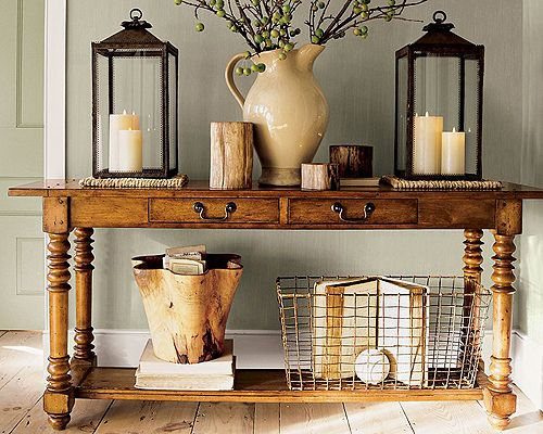 Awesome wood on that table. Love all the natural tones together