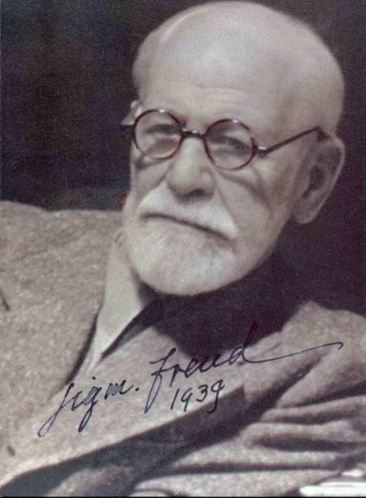 Sigmund Freud (1856 – 1939) was an Austrian neurologist who became known as the founding father of psychoanalysis.