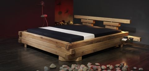 holz bett design google search schlafzimmer. Black Bedroom Furniture Sets. Home Design Ideas