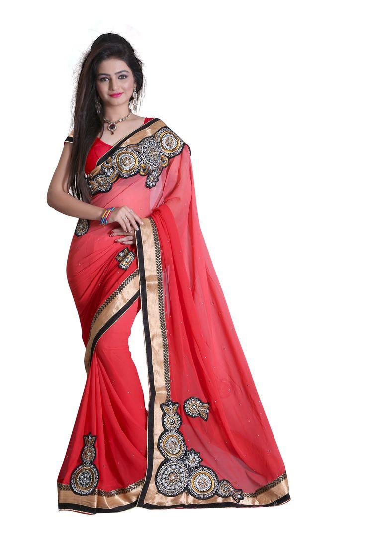 Bollywood-Saree-Party-Wear-Indian-Ethnic-Pakistani-Designer-Sari-Wedding-Dress