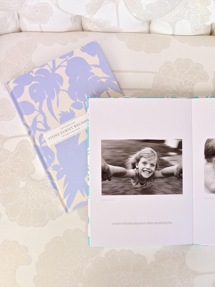 Florence Broadhurst designer fabric binding on a MILK Bespoke Book