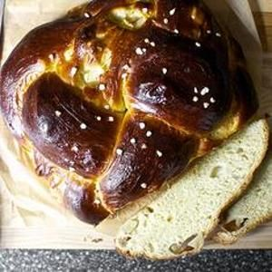 Apple And Honey #Challah - Studded with apples that nearly break down ...