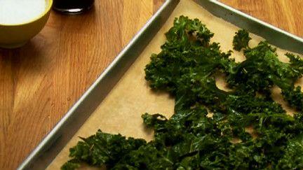 Chips de Kale | par Josée di Stasio | À la di Stasio. Oh!