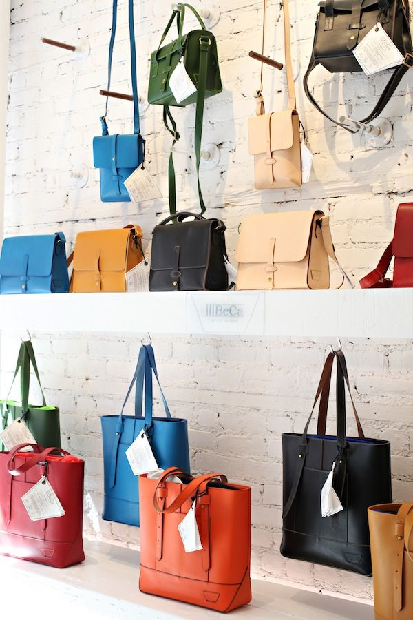 Shop Talk: Joy Gryson | theglitterguide.com  -New York shop-IIIBeCa, handbags under $200, and 9% of the profit goes to charity