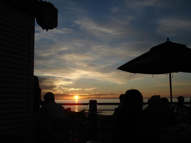 Dinner at the beach, Raumati