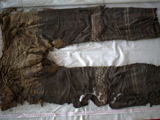 Archaeologists Discover World's Oldest Pants, Worn by Central Asian Horse-Riders 3,300 Years Ago | Ecouterre