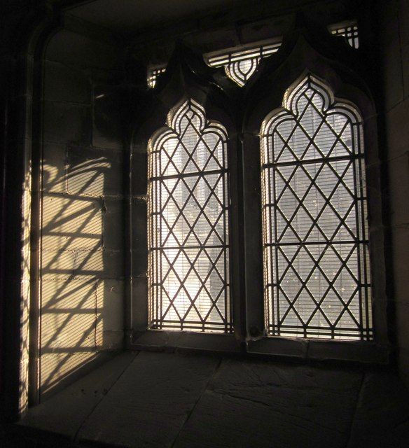 Windows, Church of St Mary, Stafford by Derek Harper, via Geograph