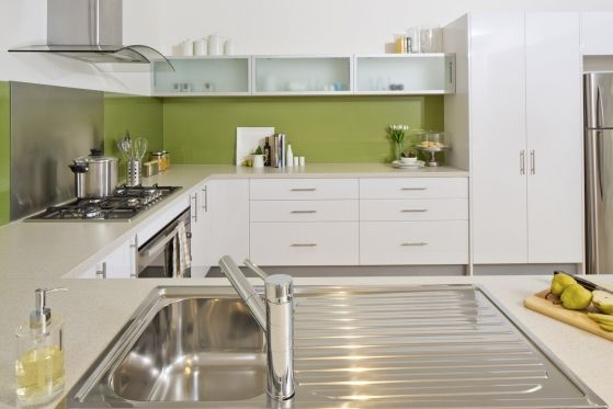 Kaboodle flat pack kitchens at Bunnings