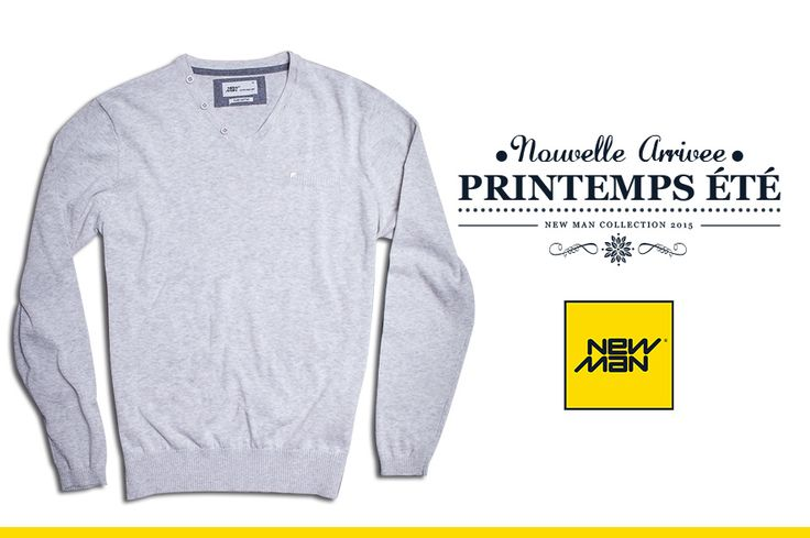 Colección New Man Chile S/S'15 #Basic #Grey