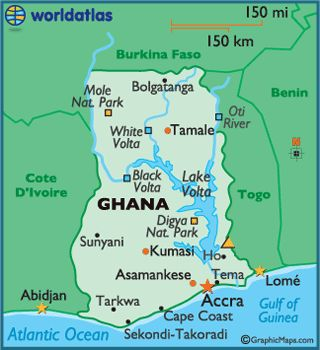 Best Ghana Africa Images On Pinterest Ghana Africa And West - Map of ghana