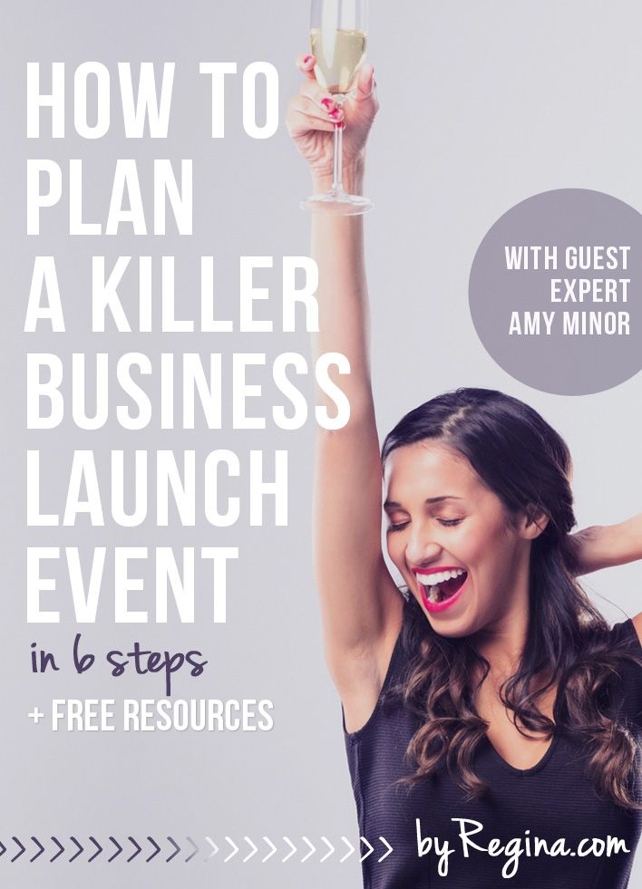 Love this! How to Plan a Killer Business Launch Event (in 6 steps). Guest expert Amy Minor shares 6 steps and several great questions you should ask and answer while planning your business launch event. Did I mention there are some free spreadsheets/templates too?