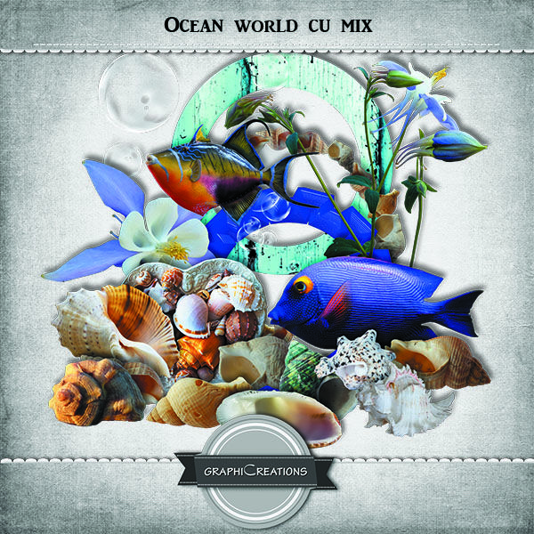 Ocean World EXCLUSIVE CU MIX by Graphic Creations