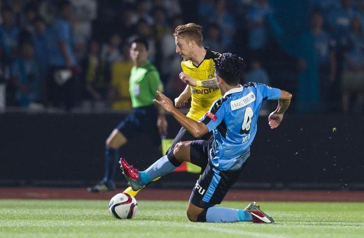 Bilder des Testspiels zwischen Kawasaki Frontale und Borussia Dortmund.
