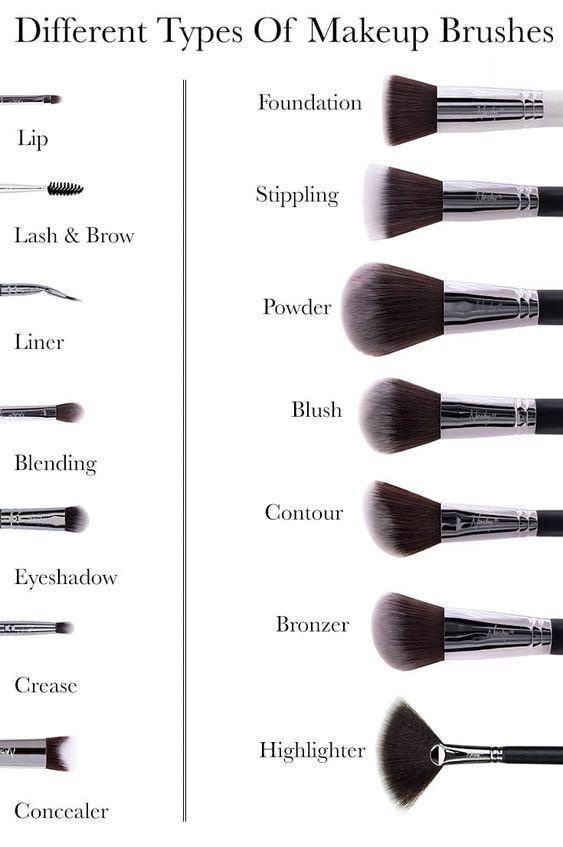Makeup Brushes #makeup #eyemakeup #makeuptutorial #makeupvideo #eyeshadow #eyebrow