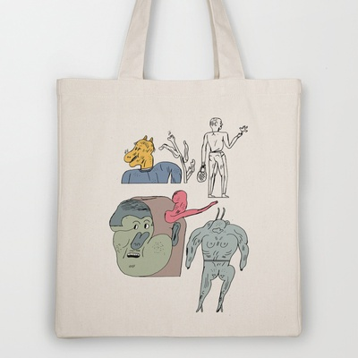 jikjikjik Tote Bag by Jon Boam - $18.00