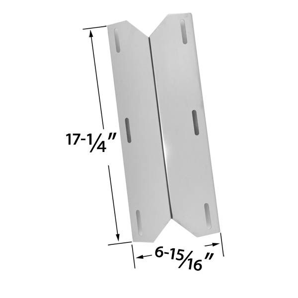 REPLACEMENT STAINLESS STEEL HEAT SHIELD FOR STERLING FORGE, CHARMGLOW 720-0230, COSTCO KIRKLAND, NEXGRILL & LOWES MODEL GRILLS Fits Compatible Sterling Forge Models : 720-0016, Chateau 720-0058, Courtyard 720-0016 Read More @http://www.grillpartszone.com/shopexd.asp?id=33496&sid=25390
