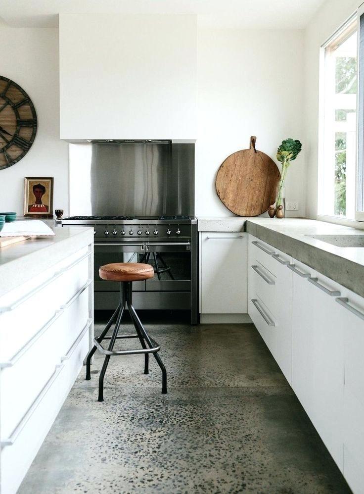 Concrete Kitchen Floor Best Concrete Kitchen Floor Ideas On Concrete Inside Concrete Kitch Concrete Countertops Kitchen Concrete Kitchen Floor Kitchen Interior