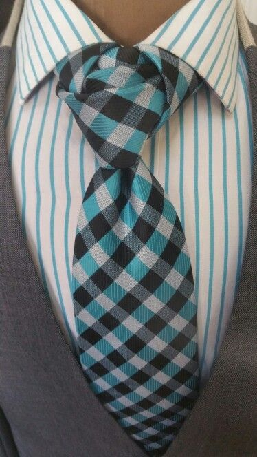 The Helio Necktie - Layered Knot www.thecorvancollection.com