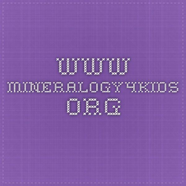 www.mineralogy4kids.org