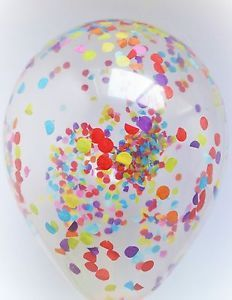 Multi Confetti Birthday Balloons. Purchase now on our EBay store!