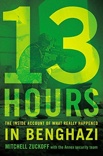 13 Hours: The Inside Account of What Really Happened In Benghazi by Mitchell Zuckoff with the Annex Security Team http://www.amazon.com/dp/1455530093/ref=cm_sw_r_pi_dp_Phqcub0ACJWFH