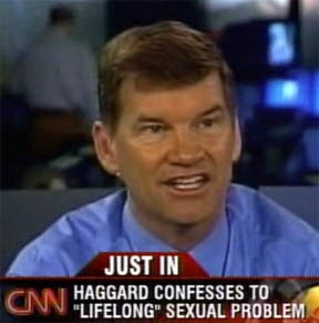 In 2011- Ted Haggard admitted to being bi-sexual.