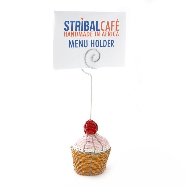 Cup Cake Menu Holder | Stribal CafeStribal Cafe