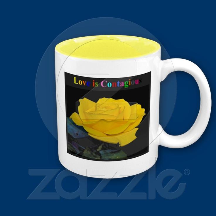 love is contagious mug  http://freedivingguide.com/