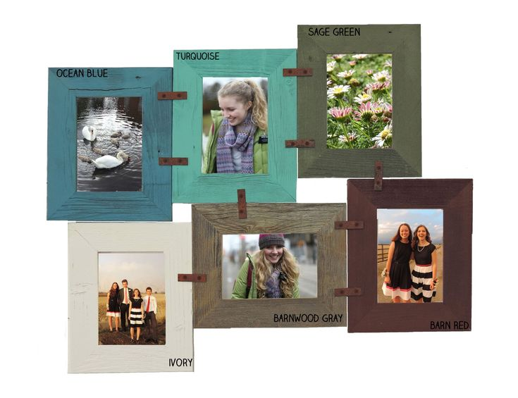 DIY 4 X 6 Picture Frame Collage Kit multi-picture frame