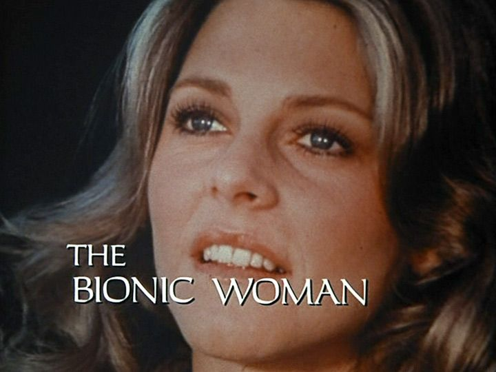The Bionic Woman. What a great show. I wish I made that sound when I jumped...