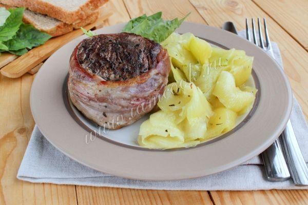 Рецепт филе миньон из говядины