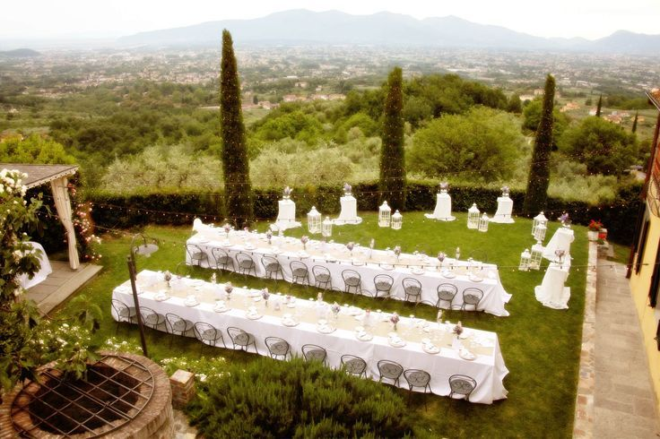 destination wedding at Tuscan farmhouse overlooking Lucca