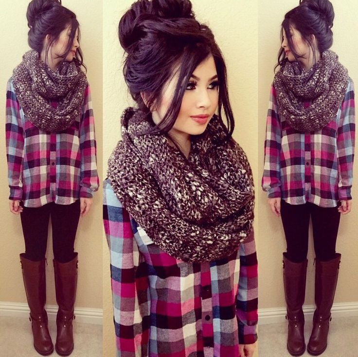This is so cute!! I just don't know about the scarf